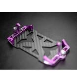 BnD Racing Aluminium Battery Holder / Color: Purple
