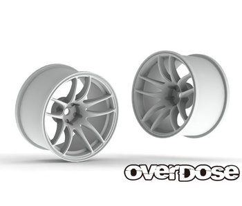 Overdose R-SPEC Work Emotion CR Kiwami 30mm / White / 9mm (2)