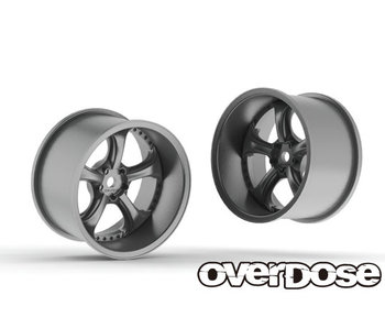 Overdose Work VS KF 30mm / Matte Chrome / 9mm (2)