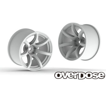 Overdose R-SPEC Work Emotion T7R 30mm / White / 9mm (2)