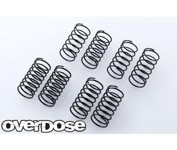 Overdose Long Spring Set 34mm Type-RY (4 types x 2 pcs)