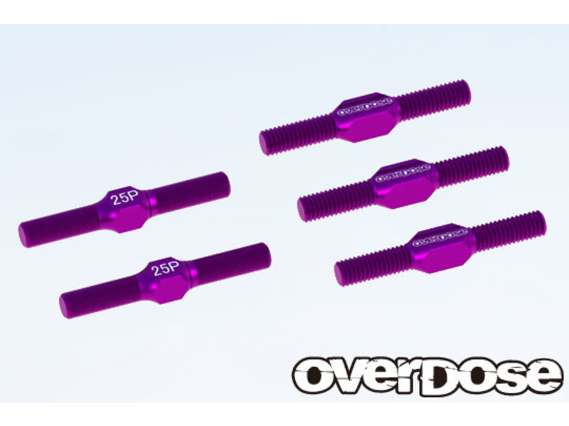 Overdose Aluminium Turnbuckle Set for GALM / Color: Purple