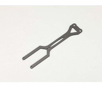 Yokomo Carbon Upper Deck for YD2 X3 - Matt Finish
