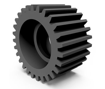 WRAP-UP Next POM High Precision Machined Idler Gear 28T for YD-2