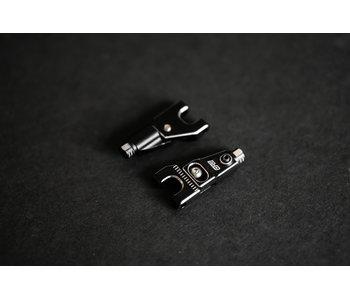 BnD Racing Alum. Upper Arm Set / Black
