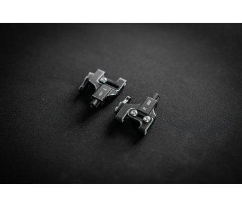 BnD Racing Alum. Lower Arm Set / Black