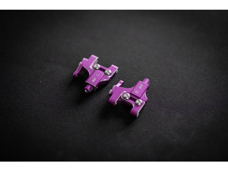 BnD Racing Aluminium Lower Arm Set / Color: Purple
