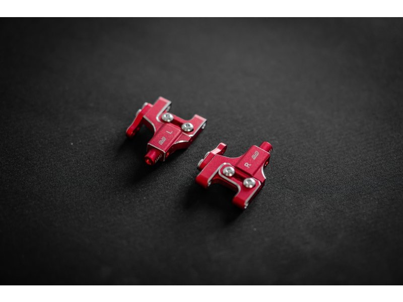 BnD Racing Aluminium Lower Arm Set  / Color: Red