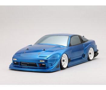 Yokomo Drift Body Nissan 180SX - Team Toyo Tires / GP Sports (Graphic / Decal Less)