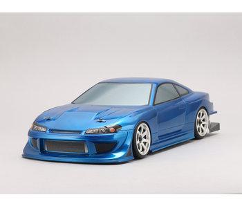 Yokomo Drift Body Nissan Silvia S15 - Team Toyo Tires / GP Sports (Graphic / Decal Less)