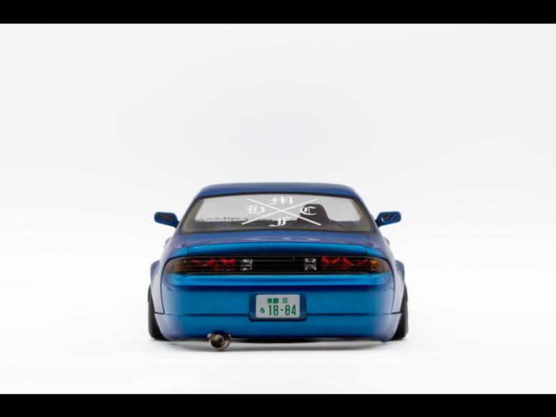 Rc Arlos AF-S14 - Nissan Silvia S14 Clear Body