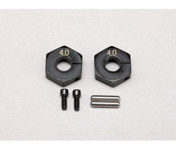 Yokomo Brass Clamp Type Wheel Hub 4.0mm (2pcs)