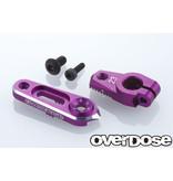 Overdose Aluminium Direct Servo Horn type JT 23T Sanwa, KO / Color: Purple