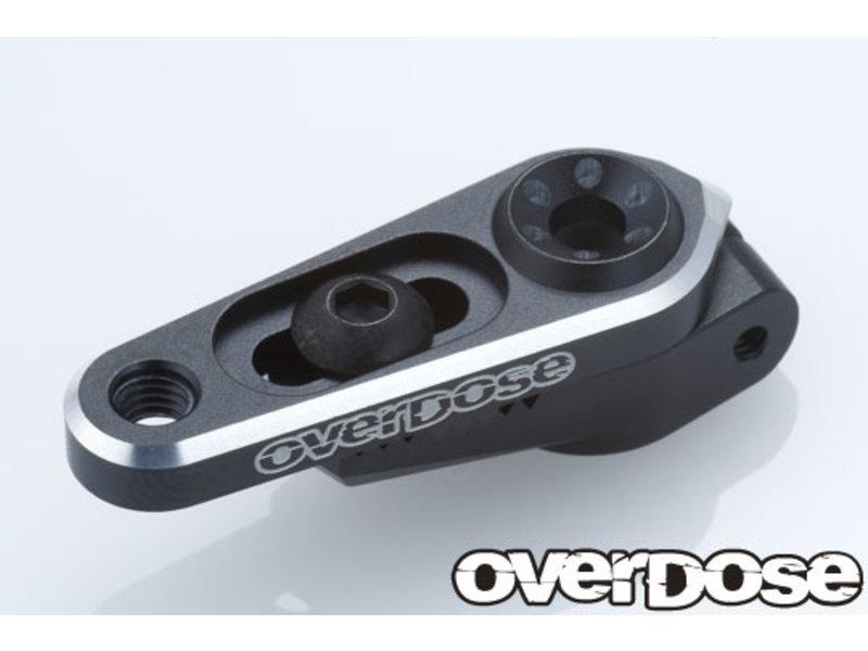 Overdose Aluminium Direct Servo Horn type JT 23T Sanwa, KO / Color: Black