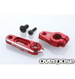 Overdose Aluminium Direct Servo Horn type JT 23T Sanwa, KO / Color: Red