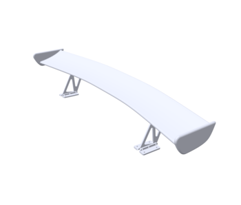 Rc Arlos Rear Wing for Nissan 240SX (S13) BN Sports