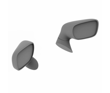 Rc Arlos Side Mirrors for Toyota Supra (A80) Rocket Bunny