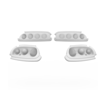 Rc Arlos Light Buckets for Toyota Supra (A80) Rocket Bunny