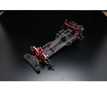 Yokomo YD-2RX Factory Assembled Full Optional RWD Chassis Kit- Red