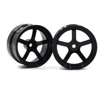 ReveD Competition Wheel DP5 (2) / Black / +6mm