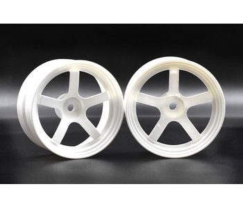 ReveD Competition Wheel DP5 (2) / White / +6mm