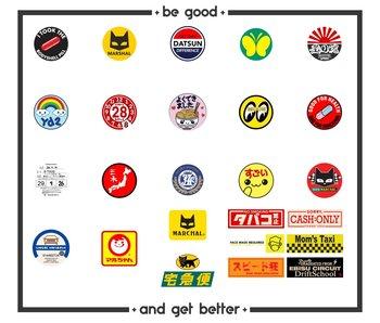 Easymade Sticker Pack Round