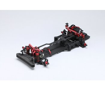 Yokomo YD-2RX Factory Assembled RWD Chassis Kit - Red