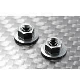 ReveD Aluminum Competition M4 Nut 5.5mm Large Diameter type (2pcs)