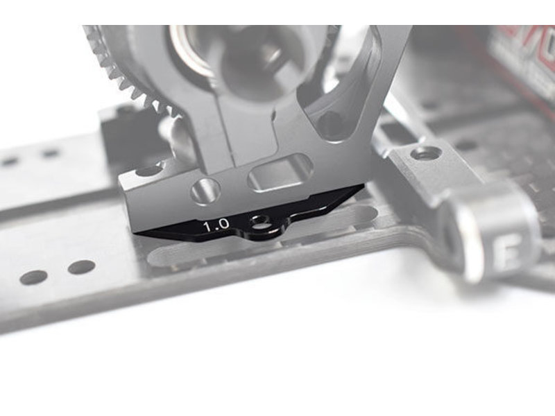 ReveD Aluminum Crab Spacer Set 0.5mm