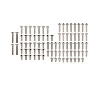 Yokomo Precision Machined Titanium Hex Screw Set for YD-2 SXIII (84pcs)