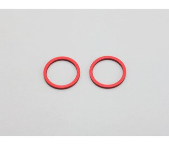 Yokomo Aluminium Joint Ring for Differential / Solid Axle - Red (2pcs)