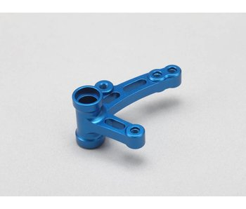 Yokomo Aluminum Steering Bell Crank L-Type - Blue