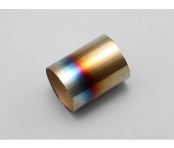 Yokomo Steel Muffler Tip Burned Look (1pc)
