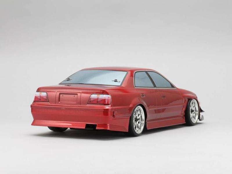 Yokomo SD-KU2B - Drift Body Toyota Chaser JZX100 - Goodyear Racing / Kunny'z (Graphic / Decal Less)