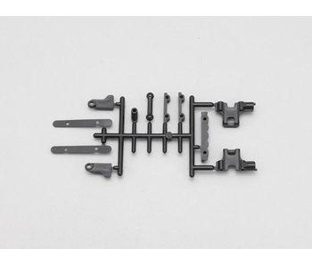 Yokomo Battery Guide / Antenna Mount Set