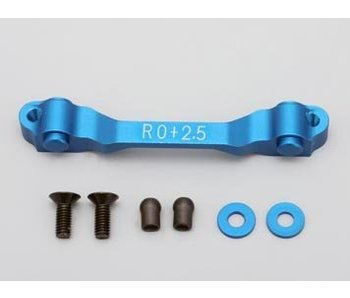Yokomo Aluminium Rear Suspension Mount Rear Side Toe-In 2.5° - Blue