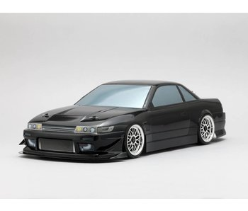 Yokomo Drift Body Nissan Silvia S13 - Drift Extreme (Graphic / Decal Less)