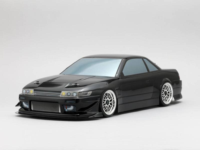 Yokomo SD-PS13B - Drift Body Nissan Silvia S13 - Drift Extreme (Graphic / Decal Less)