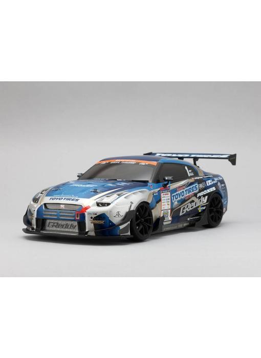 Yokomo Drift Body Set Nissan Skyline R35 - GReddy (D1 Set)