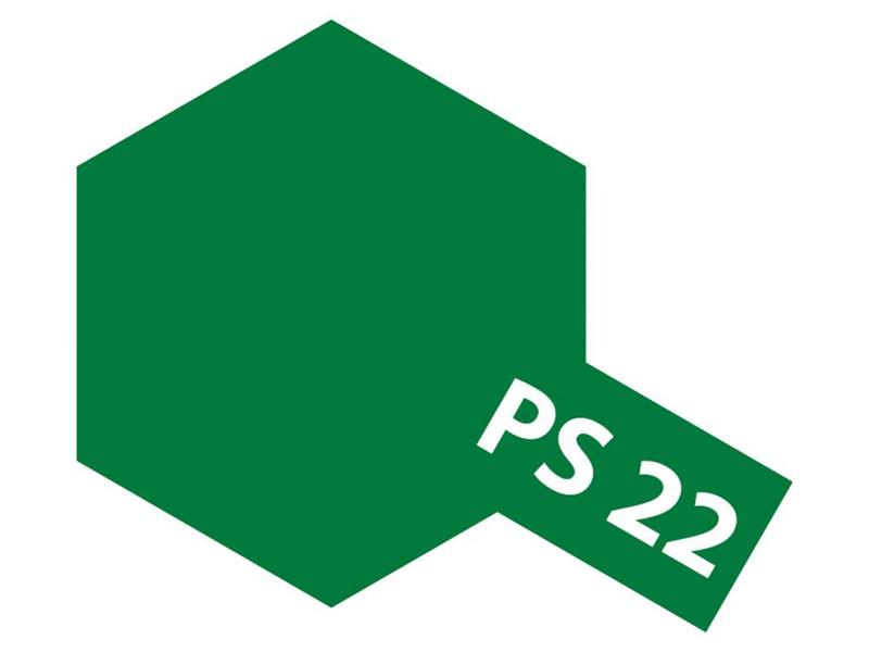 Tamiya 86022 - Spray Paint Can - PS-22 Racing Green for Polycarbonate Bodies (100ml)
