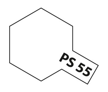 Tamiya Spray Paint Can - PS-55 Flat Clear for Polycarbonate Bodies (100ml)