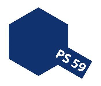 Tamiya Spray Paint Can - PS-59 Dark Metallic Blue for Polycarbonate Bodies (100ml)
