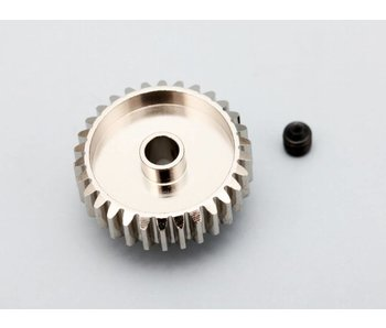 Yokomo Aluminium Pinion Gear Precision Hard Coated 28T / 48P
