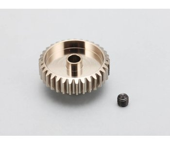 Yokomo Aluminium Pinion Gear Precision Hard Coated 32T / 48P