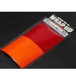 WRAP-UP Next 0003-01 - Color Lens Film Set - Red / Orange