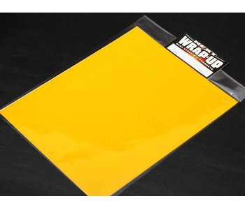 WRAP-UP Next Window Tint Film 250mm x 200mm - Yellow