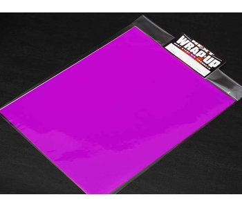 WRAP-UP Next Window Tint Film 250mm x 200mm - Pink Purple