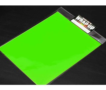 WRAP-UP Next Window Tint Film 250mm x 200mm - Lime Greem