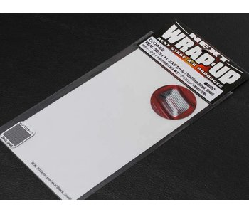 WRAP-UP Next REAL 3D Lens Decal Block Small 130mm x 75mm - Clear