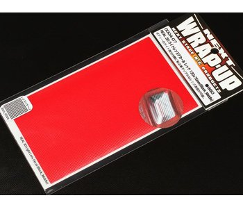 WRAP-UP Next REAL 3D Lens Decal Block Middle 130mm x 75mm - Red